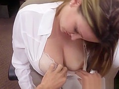 Bigtitted pawning wife pounded for money